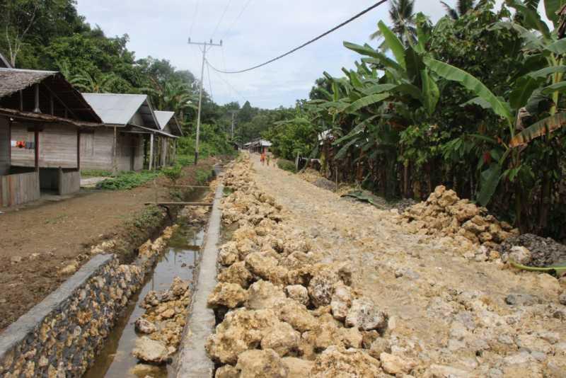 Pembangunan Jalan di Hiligawöni Diprotes Warga