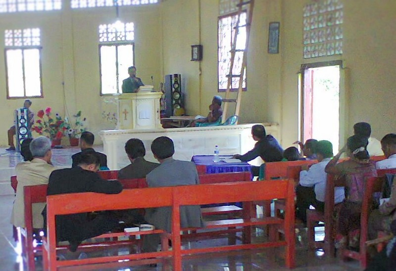 8 Gereja Ikuti Lomba Khotbah Mini di Lahömi