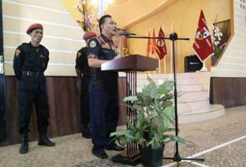 Kariawan Bago Terpilih sebagai Ketua MPC Pemuda Pancasila Nias Selatan