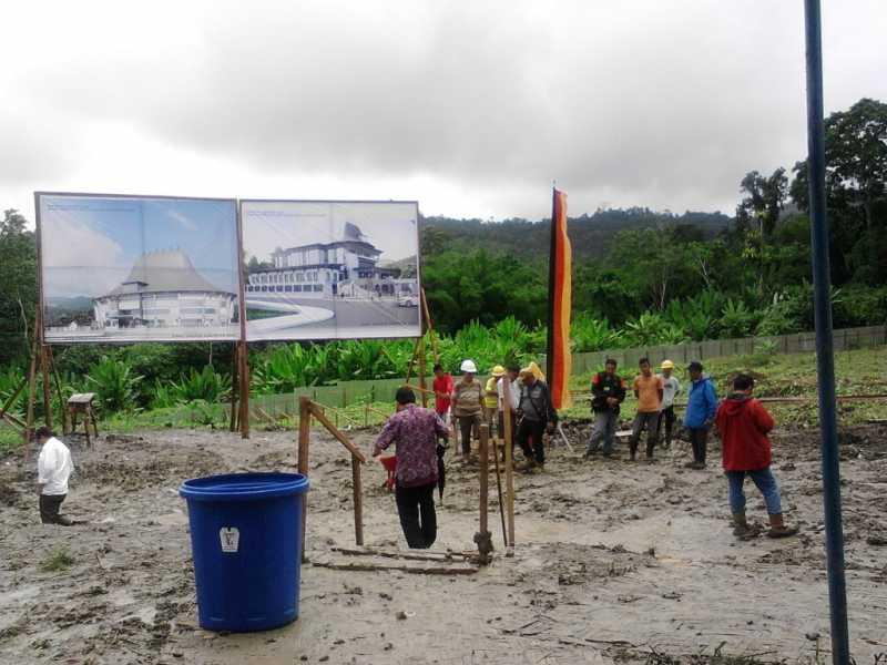 Pembangunan Kantor Bupati dan DPRD Nias Dimulai