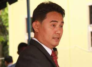 Ketua Panitia Sidang Sinode XX AFY Periode 2015-2020 Pdt. Yanto K. Hura, S.Th. Foto Kabar Nias/Onlyhu Ndraha