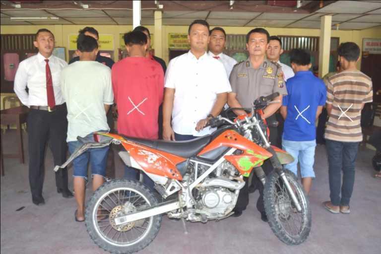 Pencuri Sepeda Motor Diringkus Polres Nias