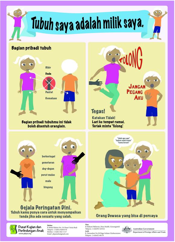 Kenalkan Perlindungan Dini kepada Anak
