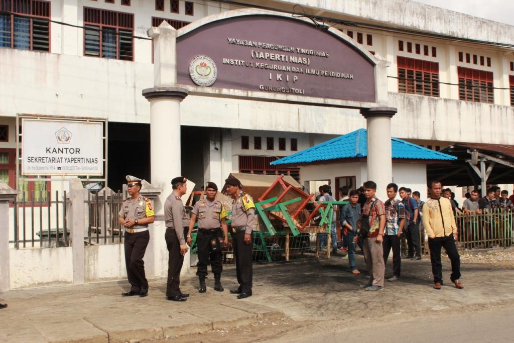 Yaperti Nias Berjanji Lengkapi Sarana Perkuliahan di IKIP Gunungsitoli
