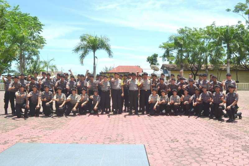 57 Brigadir Remaja yang Bertugas di Polres Nias Akan Diberi Pembekalan