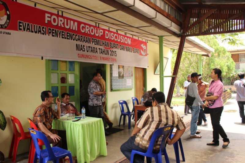 Parpol di Pulau Nias Harus Berhenti Main Politik Uang