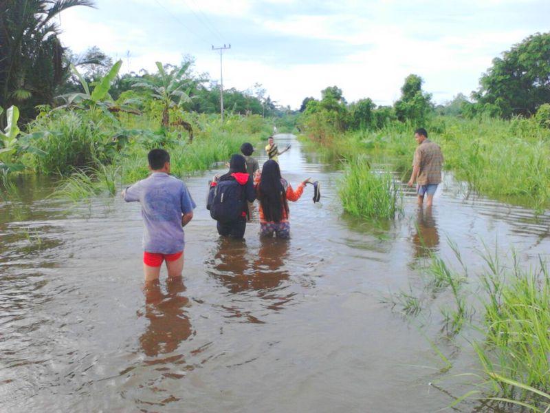 Normalisasi Terbengkalai, Sungai Sohoya Meluap Lagi
