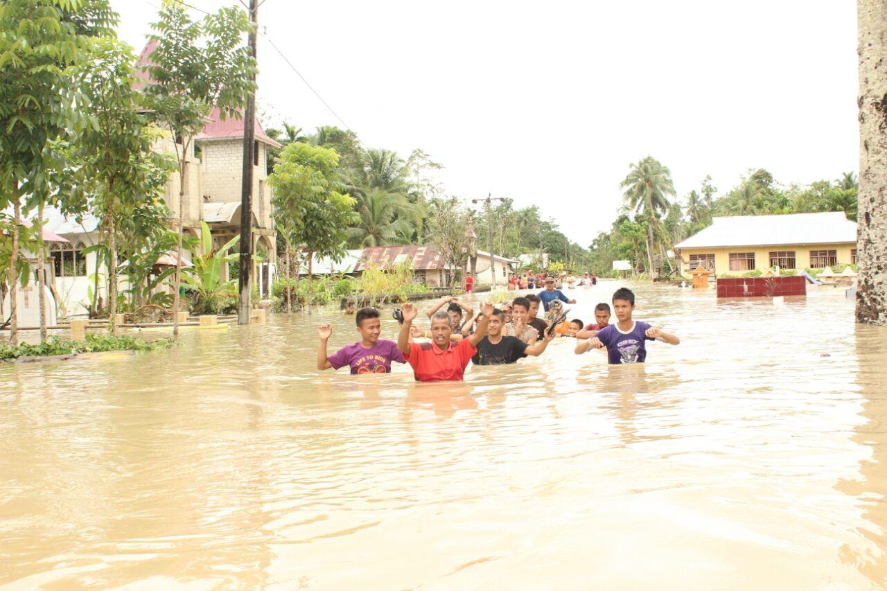 Lagi, Banjir Tenggelamkan Tiga Desa di Bawölato