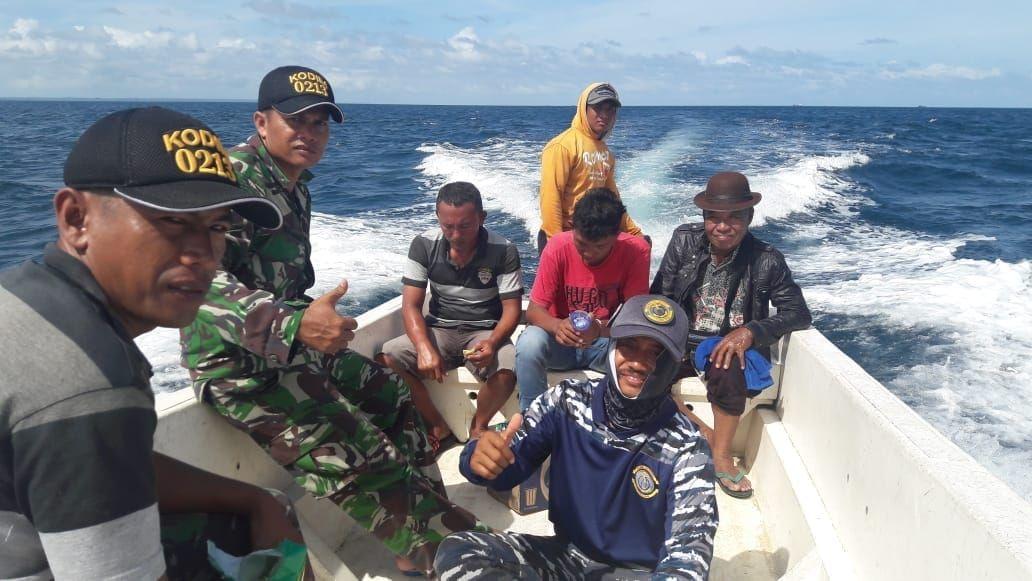 Perahu Terbalik, Dua Babinsa Pulau Terluar Nias Gagal Bertemu Presiden Jokowi