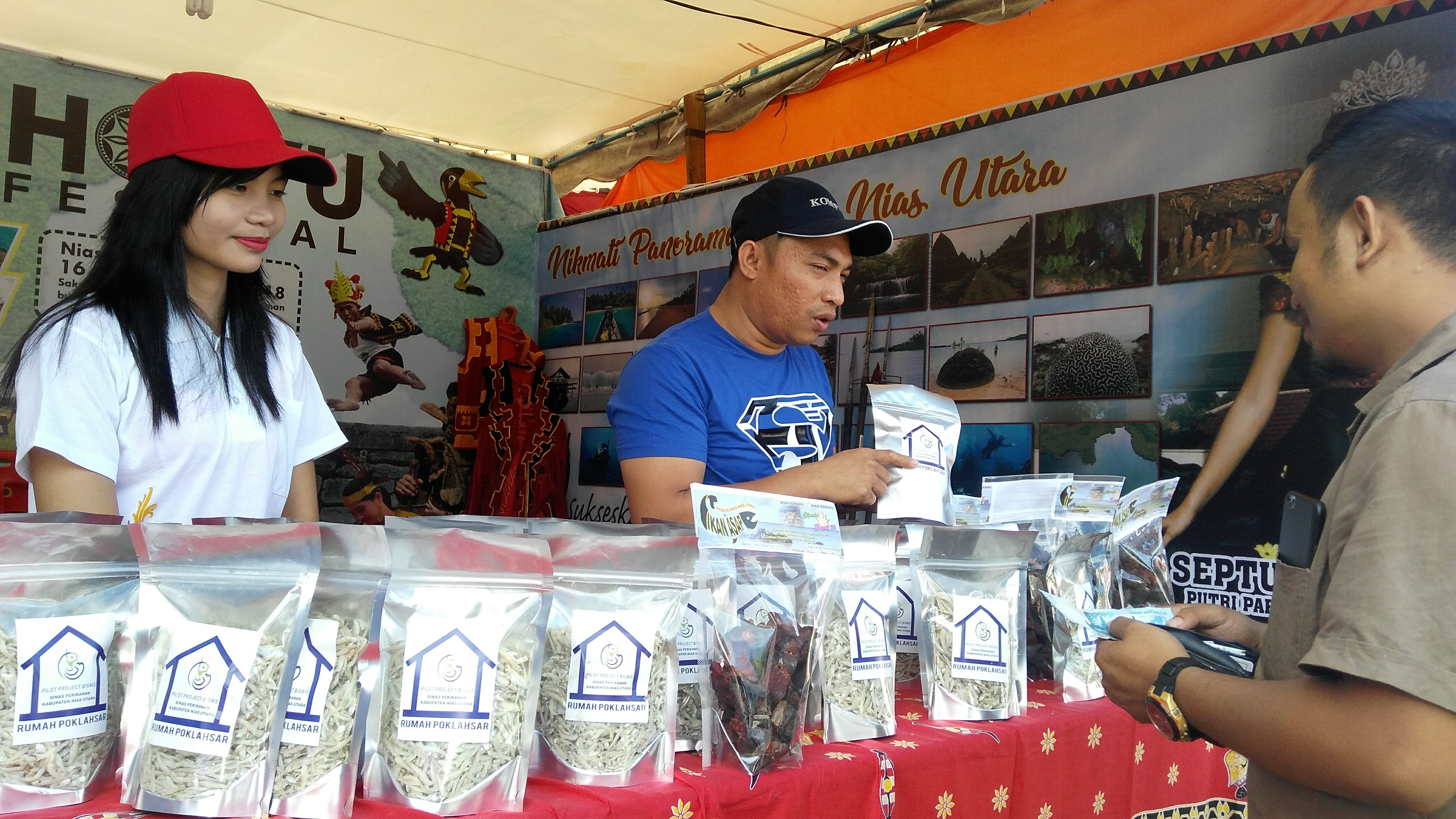 Stan Nias Utara Peringkat Ketiga pada Festival Harimbale
